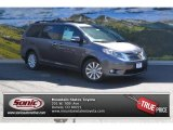 2015 Predawn Gray Mica Toyota Sienna Limited AWD #105677246