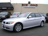 2006 Titanium Silver Metallic BMW 3 Series 325i Sedan #1055697