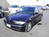 2002 Black Sapphire Metallic BMW 3 Series 325i Sedan #1055706