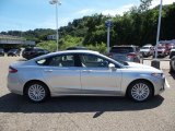 2015 Ingot Silver Metallic Ford Fusion Hybrid SE #105677303