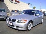 2006 Titanium Silver Metallic BMW 3 Series 325i Sedan #1055703