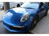 2014 Porsche 911 Sapphire Blue Metallic
