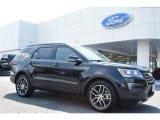 2016 Shadow Black Ford Explorer Sport 4WD #105698767