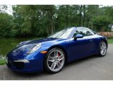 2012 Porsche 911 Aqua Blue Metallic