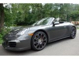 2015 Porsche 911 Agate Grey Metallic