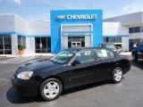2007 Black Chevrolet Malibu LT Sedan #105698784