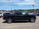 2015 Blue Jeans Metallic Ford F150 XLT SuperCrew 4x4 #105698747