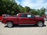 2015 Ruby Red Metallic Ford F150 XLT SuperCrew 4x4 #105698746