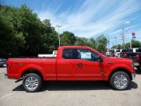 2015 Race Red Ford F150 XLT SuperCab 4x4 #105698745