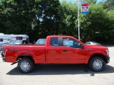 2015 Race Red Ford F150 XL SuperCab 4x4 #105698743