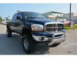2006 Atlantic Blue Pearl Dodge Ram 1500 SLT Mega Cab 4x4 #105716670