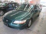 2002 Noble Green Pearl Honda Accord SE Sedan #105750217