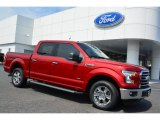 2015 Ruby Red Metallic Ford F150 XLT SuperCrew #105750205