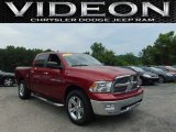 2012 Deep Cherry Red Crystal Pearl Dodge Ram 1500 SLT Crew Cab 4x4 #105750433