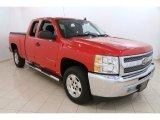 2013 Victory Red Chevrolet Silverado 1500 LT Extended Cab #105750361