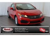 2015 Crimson Pearl Honda Civic LX Coupe #105750083
