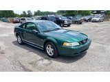 2000 Ford Mustang V6 Coupe Front 3/4 View