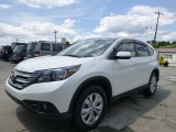 2013 White Diamond Pearl Honda CR-V EX AWD #105779471