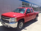 2012 Victory Red Chevrolet Silverado 1500 LS Extended Cab 4x4 #105779185