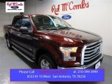 2015 Bronze Fire Metallic Ford F150 XLT SuperCrew #105779251