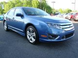 2010 Sport Blue Metallic Ford Fusion Sport #10548562