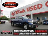 2014 Blue Ribbon Metallic Toyota Tundra SR5 Double Cab #105779280