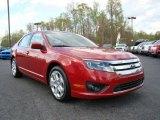 2010 Sangria Red Metallic Ford Fusion SE #10548556