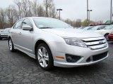 2010 Brilliant Silver Metallic Ford Fusion Sport #10548553