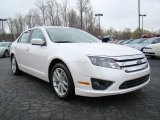 2010 White Platinum Tri-coat Metallic Ford Fusion SEL #10548552