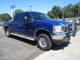 2003 Ford F250 Super Duty XLT Crew Cab 4x4 Front 3/4 View