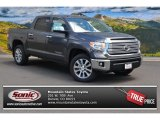 2015 Magnetic Gray Metallic Toyota Tundra Limited CrewMax 4x4 #105779139