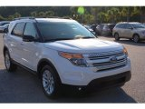 2013 Oxford White Ford Explorer XLT #105779519