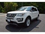 2016 White Platinum Metallic Tri-Coat Ford Explorer XLT #105817266