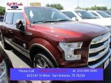 2015 Bronze Fire Metallic Ford F150 King Ranch SuperCrew 4x4 #105816949
