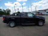 2015 Tuxedo Black Metallic Ford F150 XLT SuperCab 4x4 #105817054