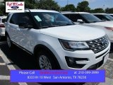 2016 Oxford White Ford Explorer XLT #105816977
