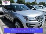 2016 Ingot Silver Metallic Ford Explorer XLT #105816976