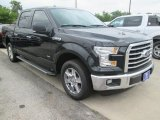 2015 Tuxedo Black Metallic Ford F150 XLT SuperCrew #105816970