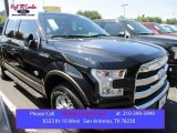 2015 Tuxedo Black Metallic Ford F150 King Ranch SuperCrew 4x4 #105816964