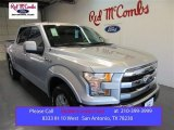 2015 Ingot Silver Metallic Ford F150 Lariat SuperCrew 4x4 #105816963