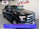 2015 Tuxedo Black Metallic Ford F150 Lariat SuperCrew #105816961