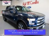 2015 Blue Jeans Metallic Ford F150 King Ranch SuperCrew 4x4 #105816957