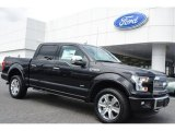 2015 Tuxedo Black Metallic Ford F150 Platinum SuperCrew 4x4 #105817103