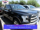 2015 Tuxedo Black Metallic Ford F150 King Ranch SuperCrew 4x4 #105816956