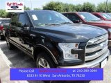 2015 Tuxedo Black Metallic Ford F150 King Ranch SuperCrew 4x4 #105816953