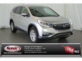 2015 Alabaster Silver Metallic Honda CR-V EX #105849939