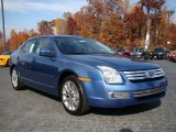 2009 Ford Fusion SEL Blue Suede Data, Info and Specs