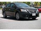 2014 Super Black Nissan Sentra SR #105850045