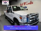 2015 Oxford White Ford F250 Super Duty XLT Crew Cab 4x4 #105849978