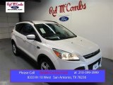 2016 White Platinum Metallic Ford Escape SE #105849975